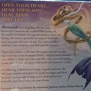 Mermaids Party Supplies - Tarot Card Deck Oracle Mermaids New